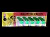 "Macks Smile Blade 1.1"" green sparkle for walleye harnesses"