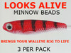 Looks Alive Minnow Beads ALASKAN SALMON