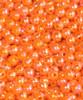 JT 6mm Pearl Blaze Oarnge Beads 100/PK