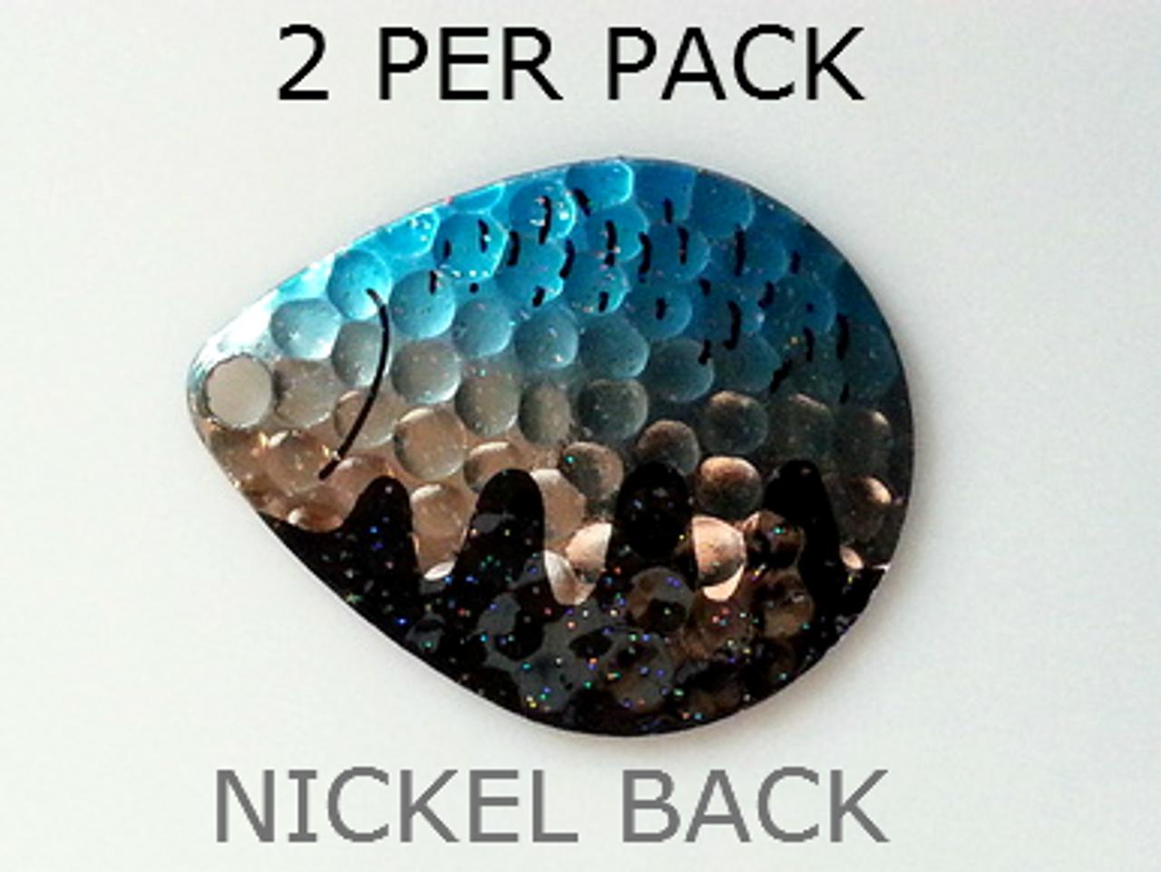 10 pack!! #5 Blue Crystal Colorado Spinner Blades