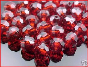 Beads Faceted 10mm ROOTBEER 36/PK