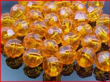 Beads Faceted 10mm TOPAZ 36/PK*