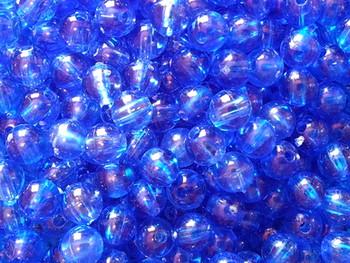 Fishing Beads Round 3mm TRANS.BLUE