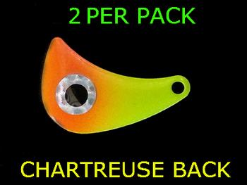 HATCHET blades #4.5 CHART/ORANGE/EYE