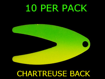 DAKOTA blades #3 CHART/GREEN SPLASH