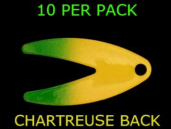 DAKOTA spinner blades #2 CHART/GREEN SPLASH