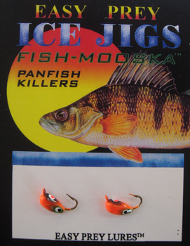 ICE FISHING JIGS #12 BUG MOOSKA BULLDOG / EASY PREY LURES