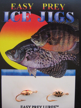 ICE FISHING JIGS #8 PANTICK COPPER PLATED / EASY PREY LURES