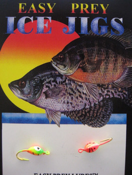 ICE FISHING LURES #10 PANTICK RED/GRN/CHART / EASY PREY LURES