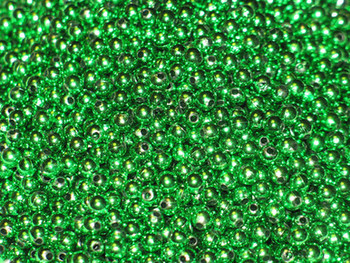 Fishing lure components JT 5mm Metallic Emerald Green Beads 100/PK