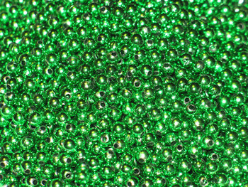 Fishing Lure Beads JT custom tackle 6mm Metallic Emerald Green Beads 100/PK