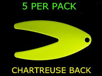 DAKOTA spinner blades #4 CHARTREUSE