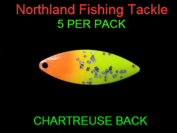 Northland Tackle WILLOWLEAF BLADES size 3 #002