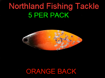 Northland Tackle WILLOWLEAF BLADES size 3 #003