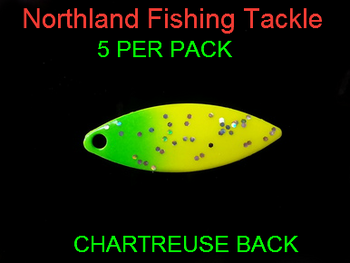 Northland Tackle WILLOWLEAF BLADES size 3 #004