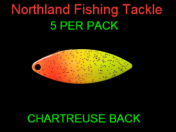 Northland Tackle WILLOWLEAF BLADES size 3 #005