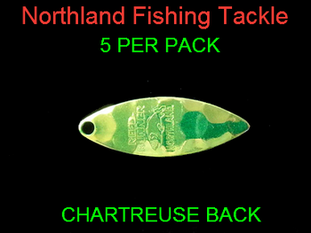 Northland Tackle WILLOWLEAF BLADES size 3 #007
