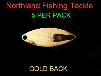 Northland Tackle WILLOWLEAF BLADES size 3 #009