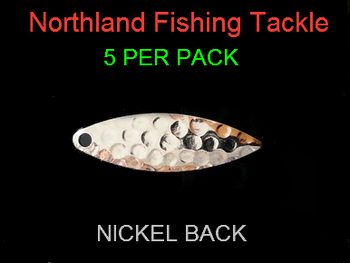 Northland Tackle WILLOWLEAF BLADES size 3 #010