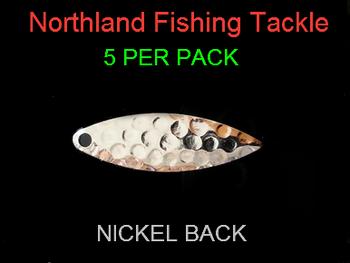 Northland Tackle WILLOWLEAF BLADES size 3 #010