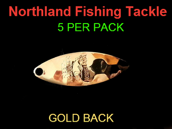 Northland Tackle WILLOWLEAF BLADES size 3 #011