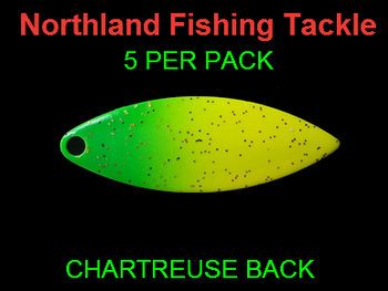 Northland Tackle WILLOWLEAF BLADES size 3 1/2 #012