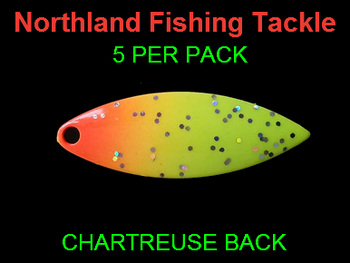 Northland Tackle WILLOWLEAF BLADES size 3 1/2 #013