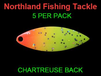 Northland Tackle WILLOWLEAF BLADES size 3 1/2 #013