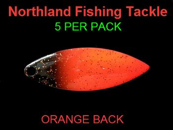 Northland Tackle WILLOWLEAF BLADES size 3 1/2 #015
