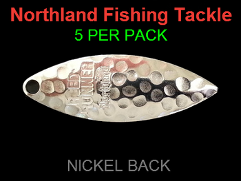 Northland Tackle WILLOWLEAF BLADES size 3 1/2 #016