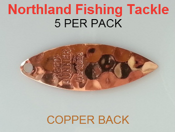 Northland Tackle WILLOWLEAF BLADES size 3 1/2 #017