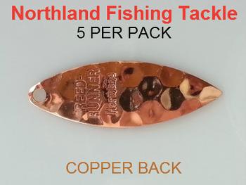 Northland Tackle WILLOWLEAF BLADES size 3 1/2 #017