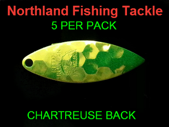 Northland Tackle WILLOWLEAF BLADES size 3 1/2 #018