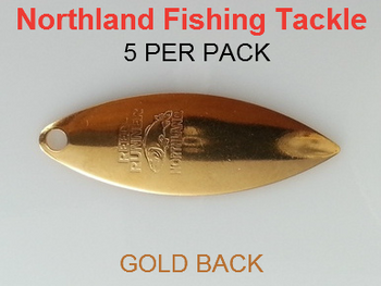 Northland Tackle WILLOWLEAF BLADES size 3 1/2 #012