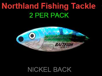 Northland Tackle WILLOWLEAF BLADES size 3 1/2 #020