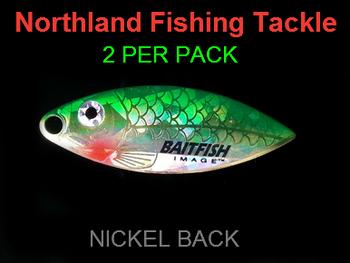 Northland Tackle WILLOWLEAF BLADES size 3 1/2 #022