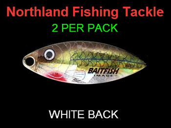 Northland Tackle WILLOWLEAF BLADES size 3 1/2 #023