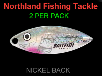 Northland Tackle WILLOWLEAF BLADES size 3 1/2 #024