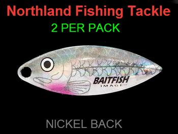 Northland Tackle WILLOWLEAF BLADES size 3 1/2 #024