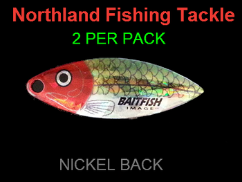 Northland Tackle WILLOWLEAF BLADES size 3 1/2 #025