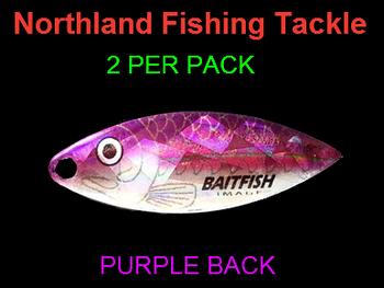 Northland Tackle WILLOWLEAF BLADES size 3 1/2 #026