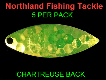 Northland Tackle WILLOWLEAF BLADES size 4 #027