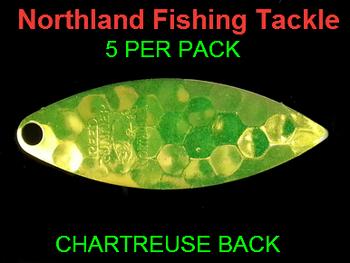 Northland Tackle WILLOWLEAF BLADES size 4 #027