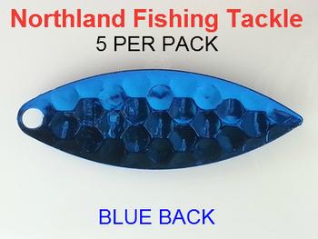 Northland Tackle WILLOWLEAF BLADES size 4 #028