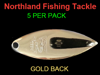 Northland Tackle WILLOWLEAF BLADES size 4 #032