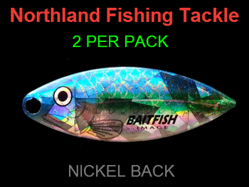 Northland Tackle WILLOWLEAF BLADES size 4 #033