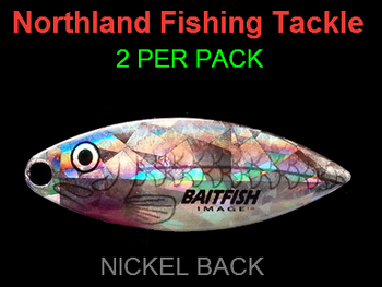 Northland Tackle WILLOWLEAF BLADES size 4 #034