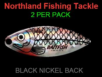 Northland Tackle WILLOWLEAF BLADES size 4 #037