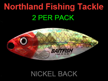 Northland Tackle WILLOWLEAF BLADES size 4 #038