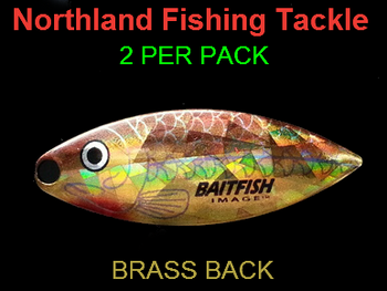 Northland Tackle WILLOWLEAF BLADES size 4 #039
